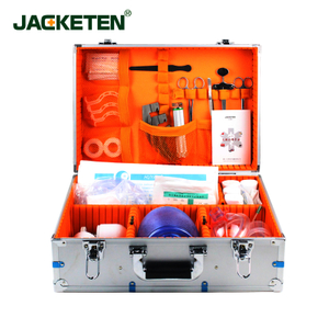 JACKETEN Portable Workplace first aid kit contents-JKT040  Aerometal Osha First Aid Kit