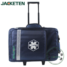 JACKETEN Multi-Function Medical First Aid Kit-JKT036 Large thickening Waterproof EMS Medical First Aid Kit Bag Emergency Bag