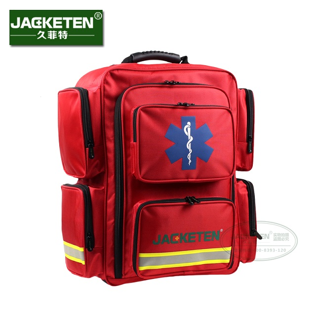 JACKETEN AED First aid kit First responder kit bag emergency medical services kit