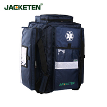 JACKETEN First responder kit AED First Aid bag CPR Child student emergency medical services backpack