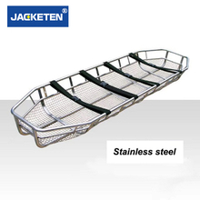Stainless Steel Trauma Basket Stretcher For Mountain Rescue Air Ambulance Stretcher