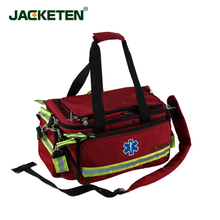 JACKETEN First Aid Kit JKT014 The Firefighter Bag Professional First Aid Bag Multifunctional Medical Mmergency Bag