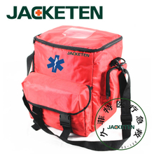 JACKETEN Pre-hospital First Aid Kit-JKT025 Ambulance Medical Large Nylon Outside Sport First Aid Kit Emergency Hiking Travel Bag